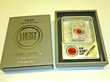 Lucky Strike ZIPPO LIGHTER & ASHTRAY-Never Struck-Limited Edition - 1995