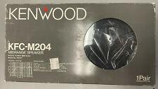 """Kenwood KFC-M204 Midrange 4"""" Speaker **NEW** OLD SCHOOL"""