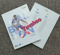 Brighton v Manchester City LIMITED Programme 11/7/20! READY TO DISPATCH!