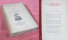 Le Clavier d'OR / Sonnets de Frédéric Bataille (1875-1884)/ Édit. Lemerre 1884