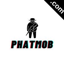PHATMOB.com 7 Letter Premium Short .Com Catchy Brandable Domain Name