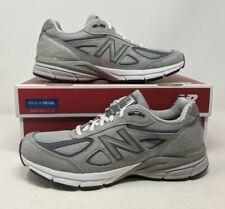 New Balance 990v4 Running Shoe Sneakers Grey Castlerock NIB Sz 8 2E Wide NEW DS
