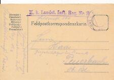 Nr.14821 Feldpostkarte K.u.K.IR 2 Polen, Galizien, Wolhynien - Fp-160 1914