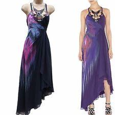 Limited Karen Millen Silk Black Grecian Tribal Beaded Necklace Cocktail Dress 6