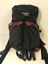 Eureka Glissade Hiking Backpack PurplBlack Camping Internal Frame Traveling Pack
