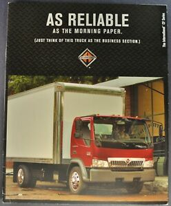 2005 International CF COE Truck Brochure Box Cargo Delivery Excellent Original