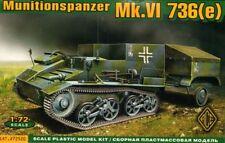 Ace 1/72 munitions Tank Mk. VI 736 (E) # 72520
