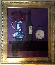 Hubertus Johannes Mengels, oil on canvas painting, famous Dutch artist, & signed