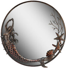 Mermaid Round Wall Mirror by Spi Home/San Pacific International 50744