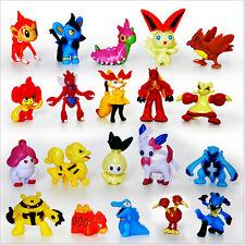 "24pcs Pokemon Go Action Figurines 1"" Birthday Cake Topper"
