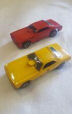 Redline Hotwheels 1969 Mongoose and Snake Car Set