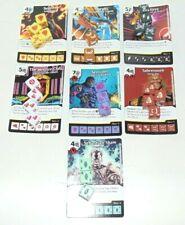 Dice Masters X-Men First Class Lot of 7 Plus 24 Dice All RARES Sunfire, Etc. !