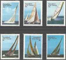 Timbres Bateaux Grenadines St Vincent 532/7 ** lot 10044