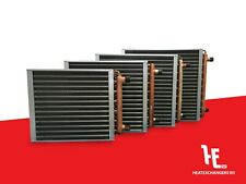 Water to Air Heat Exchanger Hot Water Coil Outdoor Wood Furnace - Multiple Sizes