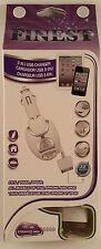 Fifo 3' Retractable Charger for Ipad 1-2 Iphone 4 4s 3g 3gs touch nano classic
