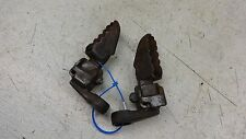 1978 yamaha dt250 dt enduro Y559~ front foot pegs rests w mounts