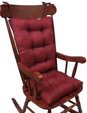 Rocking Chair Cushions Indoor Outdoor Deck Patio Porch Rocker Furniture Seat