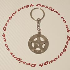 Peugeot 306 Gti 6 / Rallye / S16  Keyring Wheel Metal