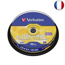 Dvd RW 4.7gb Verbatim 4x 10er Cakebox