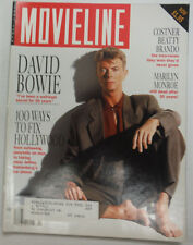 Movieline Magazine David Bowie & Kevis Costner WITH ML April 1992 052515R