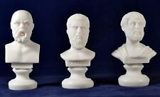 Socrates ,  Plato, Aristotle greek Philosophers Set  NEW Free Shipping -Tracking