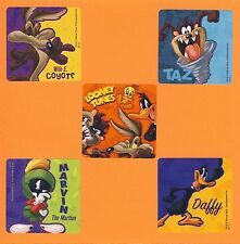 10 Looney Tunes - Large Stickers - Taz, Daffy, Wile, Marvin - Party Favors