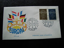 LUXEMBOURG - enveloppe 1er jour 19/9/1959 (europa) (cy25)