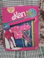 Ken Doll Ski Fun Fashions 1991 #7597 NRFB Barbie Mattel Vintage