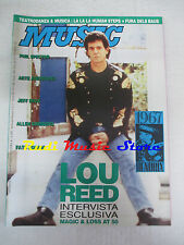 Rivista MUSIC 146/1992 Lou Reed Jeff Beck Jimi Hendrix Phil Spector  No cd