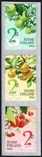 Finland  2014 Fruits, Apple, Pear, Plum (3) MNH