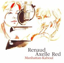 CD SINGLE 2T RENAUD AXELLE RED / MANHATTAN-KABOUL
