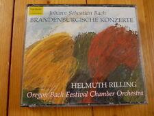 BACH Brandenburgische Konzerte HELMUTH RILLING 2CD-BOX