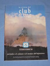 LA RIVISTA DEL CLUB ALPINO ITALIANO - Novembre Dicembre 1993 (M4)
