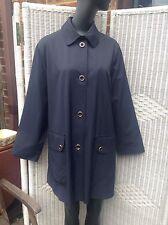 Women's Outdoor Cotton Blend Button Knee Length Coats & Jackets