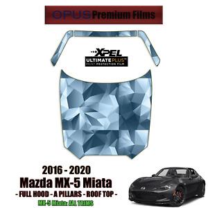 XPEL ULTIMATE Plus PreCut Paint Protection Kit for Mazda MX-5 Miata 2016 - 2020