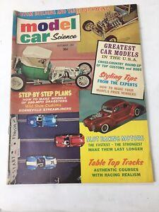 Model Car Science Magazine September 1964
