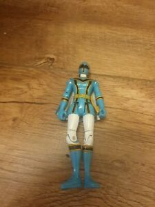 Bandai 2005 Power Rangers Mystic Force Action Blue Female Figure