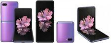 SAMSUNG GALAXY Z FLIP 256GB 8GB RAM Dual Sim 4G Purple Smartphone Pieghevole