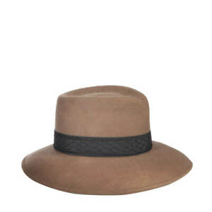 Authentic NWT Eric Javits Designer NYC Women's Hat - Popkim in Tabac