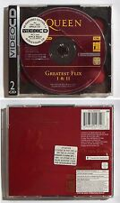 Video CD - Queen Greatest Flix I & II - Remastered edition 1.2 - RARE