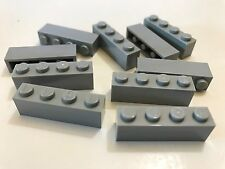 *NEW* 10 Pieces Lego BRICKS 1x4 BLUISH GRAY 3010
