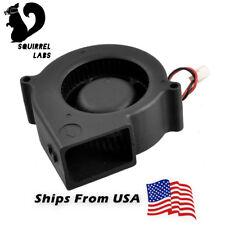 Gdstime 75x75x30mm 12V Brushless Turbo Blower Cooling Fan 0.26Amps