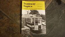 OLD RAILWAY MAGAZINE, TRAMWAY TOPICS, NEW ZEALAND, OCT 1988