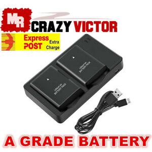 Battery Charger For Nikon D3200 D3300 D3400 D3500 D5100 D5200 D5300 D5500 D5600