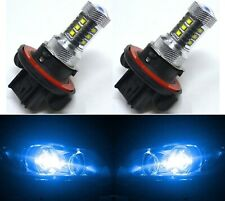 LED 80W 9008 H13 Blue 10000K Two Bulbs Head Light Replacement Show Use JDM