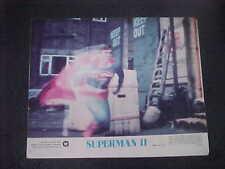 SUPERMAN 2 nr mint NSS color set [Christopher Reeve, Gene Hackman, Margot Kidder