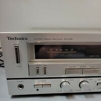 Technics SA-626 Vintage AM / FM Stereo Receiver tested and working