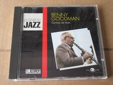 BENNY GOODMAN COMBOS DE REVES LES GENIES DU JAZZ EDITIONS ATLAS FRANCE GUILDE CD