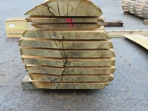 waney edge slabs 54mm ENGLISH BROWN OAK