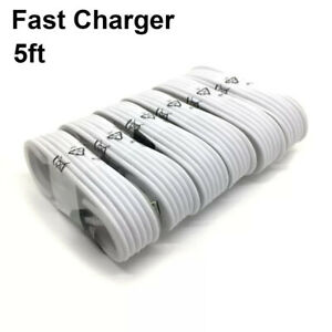 Wholesale Lot 5Ft Micro USB Charger Fast Charging Cable Cord For Android LG S6
